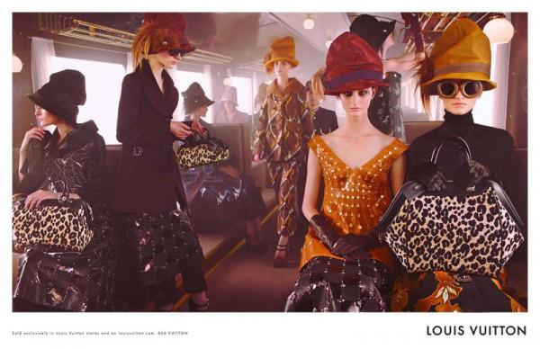 Louis Vuitton Fall 2012 Campaign 600x388 To najlepšie z módnych kampaní na jeseň/zimu 2012