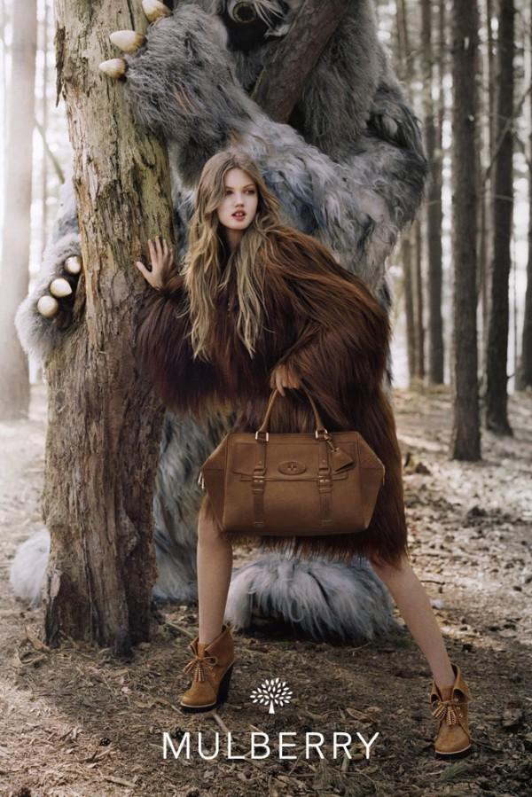 Mulberry Fall 2012 Campaign Lindsey Winxson To najlepšie z módnych kampaní na jeseň/zimu 2012