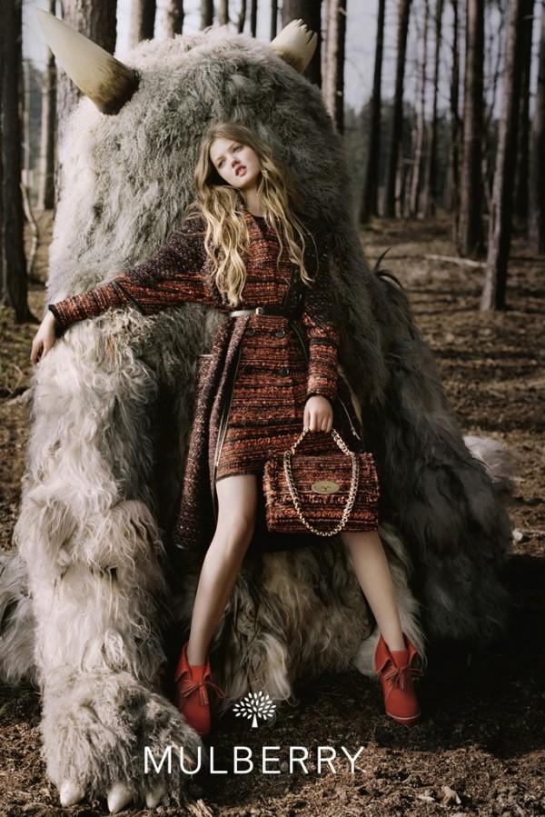 Mulberry Fall 2012 Campaign To najlepšie z módnych kampaní na jeseň/zimu 2012