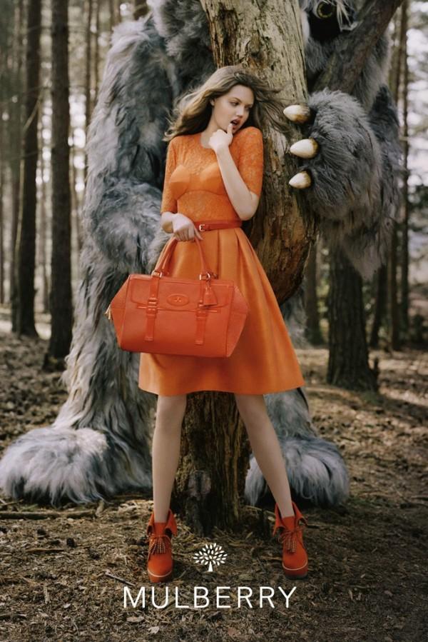Mulberry Fall Wnter 2012 Campaign To najlepšie z módnych kampaní na jeseň/zimu 2012