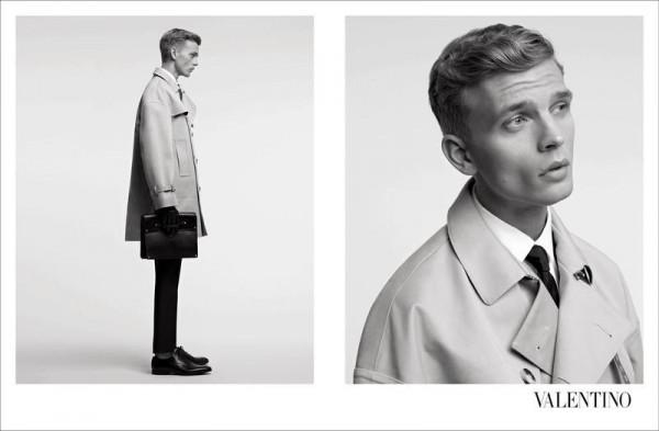 benjamin eidem valentino 600x393 To najlepšie z módnych kampaní na jeseň/zimu 2012