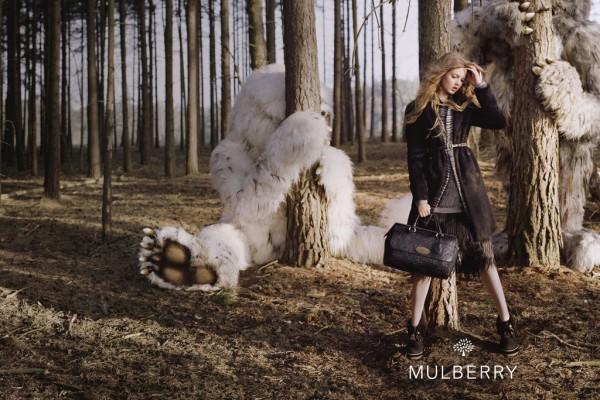 mulberry Lindsey Winxson To najlepšie z módnych kampaní na jeseň/zimu 2012
