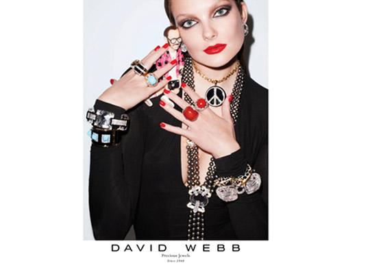 Kolekcia šperkov Davida Webba fotená geniálnym Terrym Richardsonom