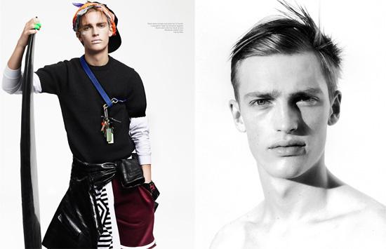 5 nádejných mužských modelov pre potešenie oka
