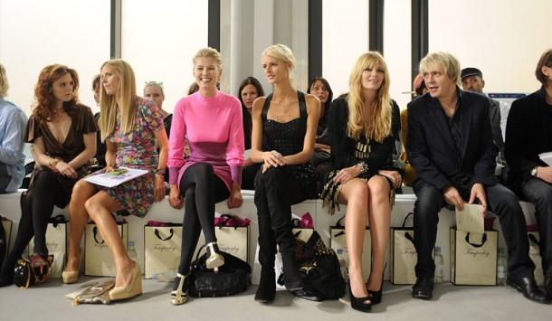 front row 610x355 New York Fashion Week. To najlepšie z prvej rady