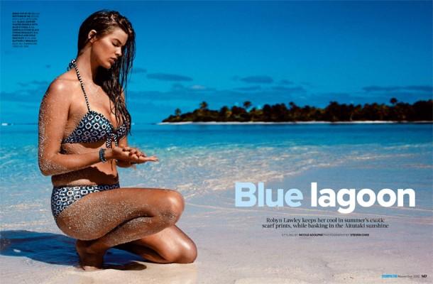 robyn lawley1 610x400 Plus size Modrá lagúna