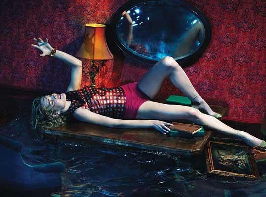 Natalia Vodianova pre W Magazine
