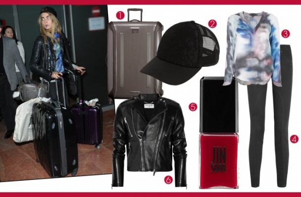 celebrities in airports cara delevingne 162101806101.jpg article gallery slideshow v2 610x401 Plane Chick: Čo si obliecť na letisko?