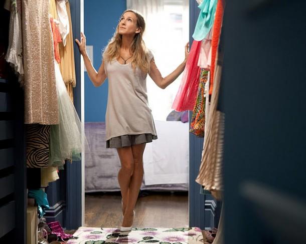 carrie closet 1040kk052410 610x487 Perfektný šatník každej fashionistky