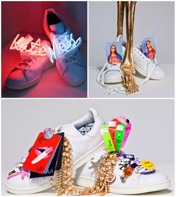 collage adidas 610x685 STAJL správy: premiéra Mademoiselle C, spievajúca Cara a Giselle, Alexa Chung a jej prvá kniha!