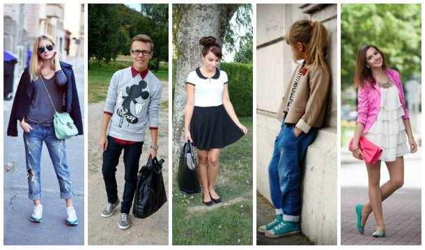 collage3 610x359 Slovenskí bloggeri radia: Čo na seba do školy?