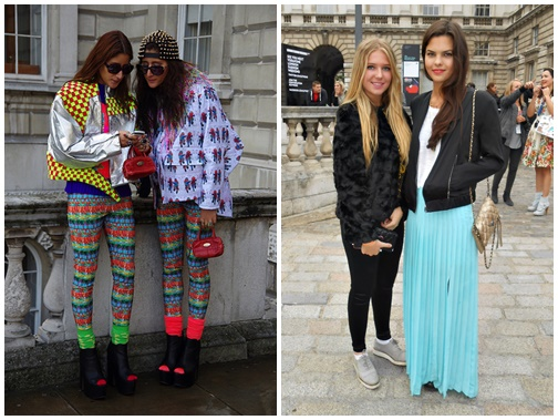 couples Exkluzívne: London Fashion Week