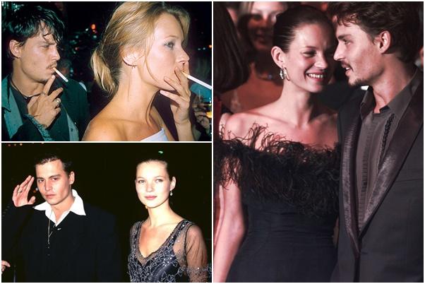 johny depp Biografia: 9 dôvodov, prečo stále fandíme Kate Moss