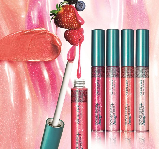 oriflame2 610x573 Skúsili sme: vôňa Power woman a lesk Power Shine Juicy od Oriflame