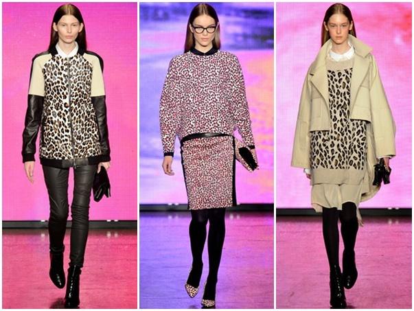 dkny Štýlová zima 2013: Leopardy, tigre a zebry