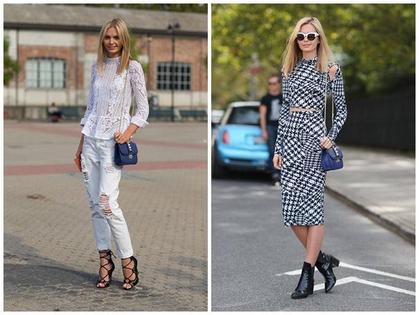 jessica stein Fashion weeks SS2014: Streetstyle najvplyvnejších osobností módy