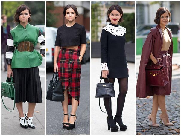 mira duma Fashion weeks SS2014: Streetstyle najvplyvnejších osobností módy
