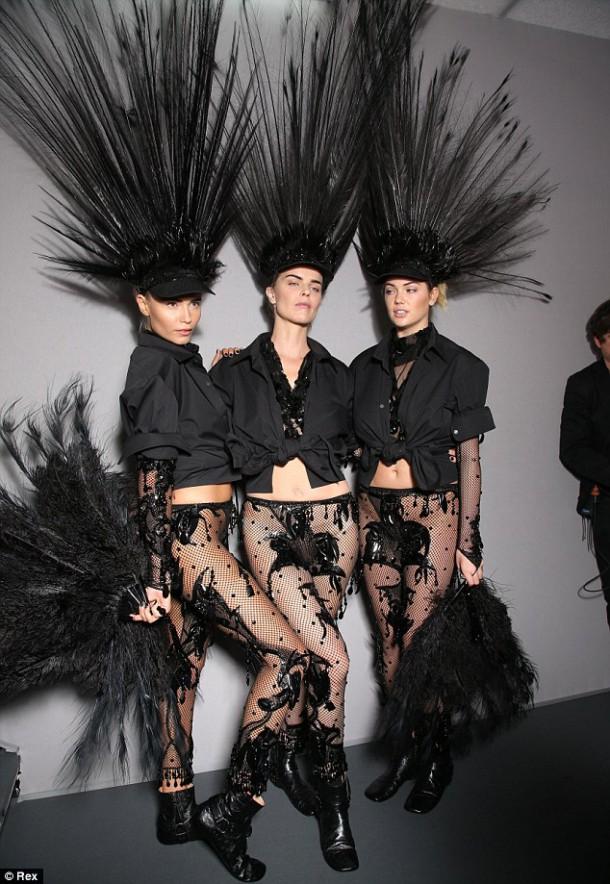 natasa 610x884 Louis Vuitton jar 2014 RTW: Labutia pieseň