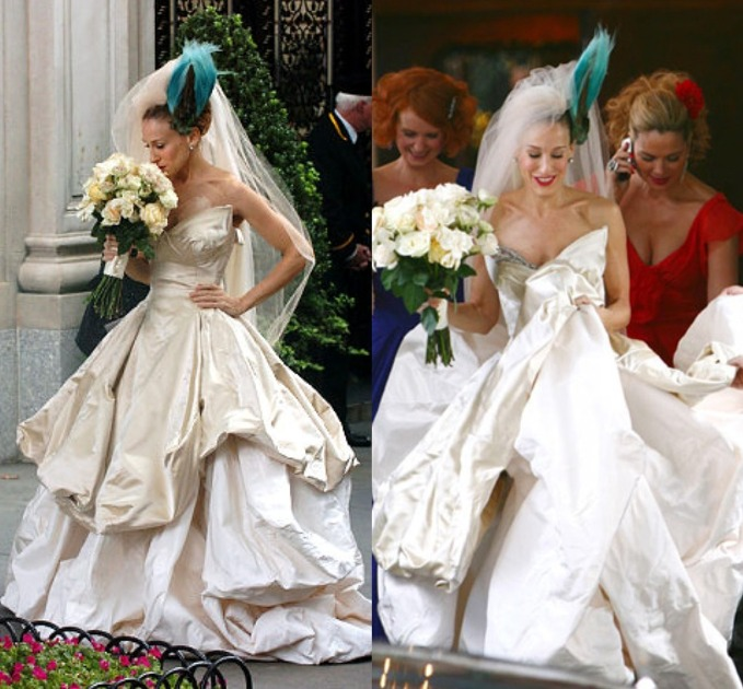 15 Of The Most Iconic Carrie Bradshaw Looks Of All Time