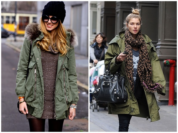 chiara Štýlová zima 2013: Bunda s kapucňou