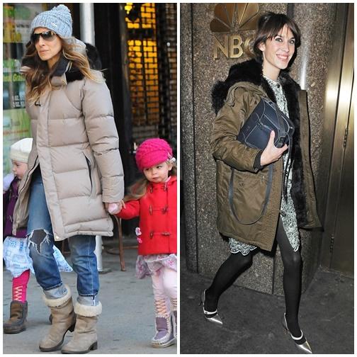 uekre Štýlová zima 2013: Bunda s kapucňou