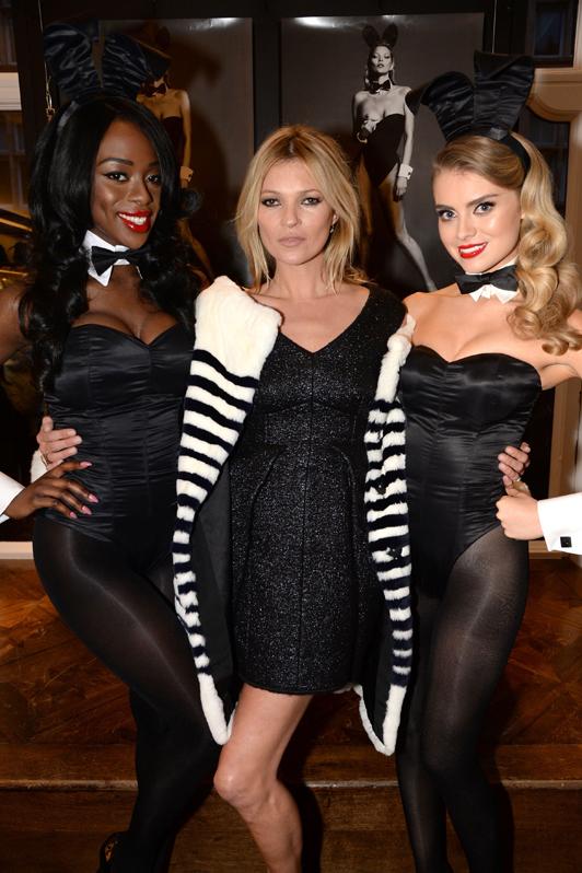 Kate Moss rex 2752628a Exkluzívne: British Fashion Awards 2013