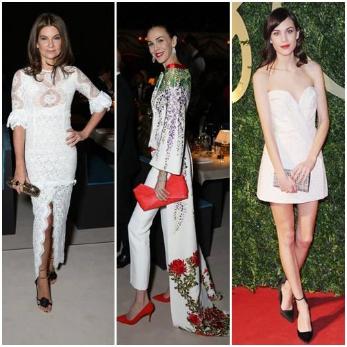 white Exkluzívne: British Fashion Awards 2013