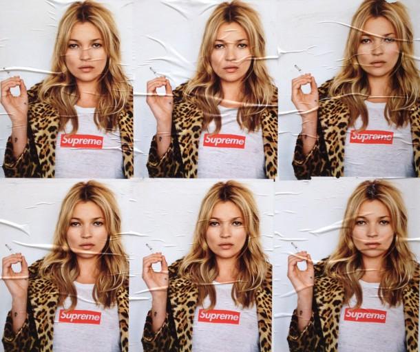 supreme x kate moss 610x511 Najlepšie kampane Kate Moss