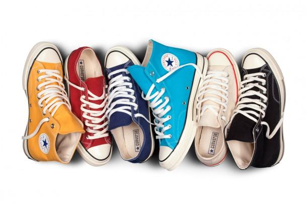 converse 1970s chuck taylor all star collection 1 610x406 CONVERSE predstavuje novú kolekciu topánok na jar/leto 2014
