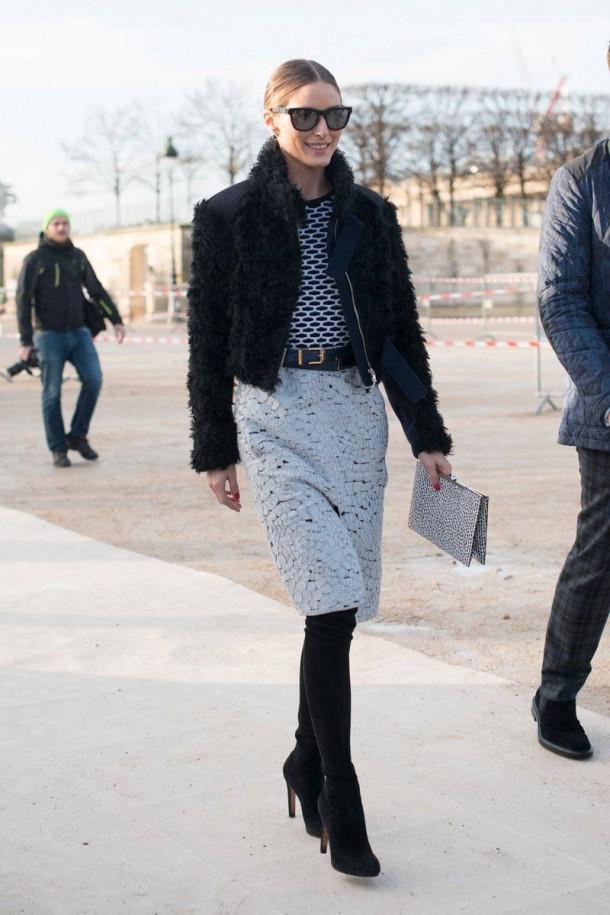 elle olivia palermo 02 feb27 v xln 610x915 Style crush: Olivia Palermo a jej 28 najštýlovejších outfitov