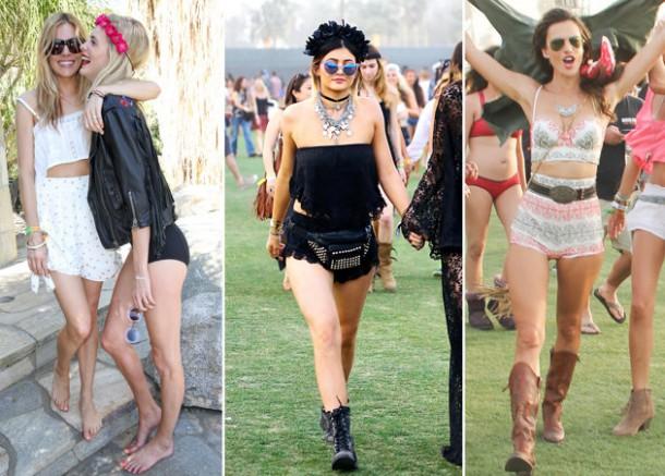 e2484000 c3f0 11e3 9c6b 0f35eb8a0b12 short hotpants coachella 610x437 Festivalový look: Coachella 2014