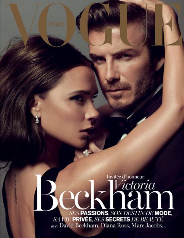 vogueparis victoria beckham david beckham 001 610x790 Victoria Beckham: Od Posh Spice k móde
