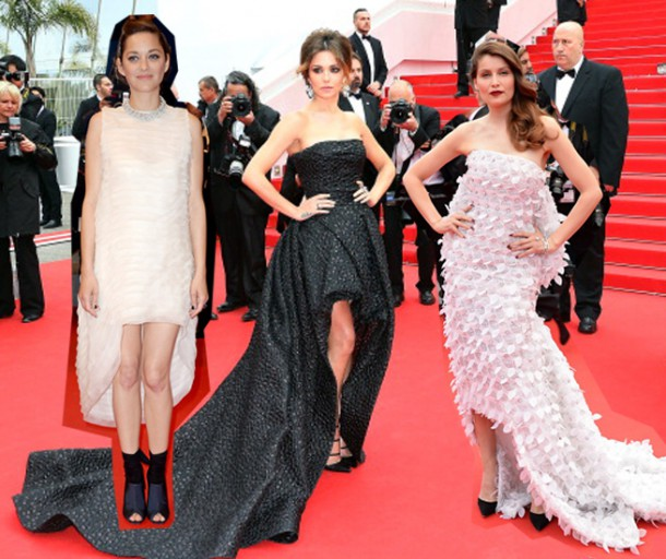 CANNES RED CARPET DRESSES 610x512 Desať trendov na festivale v Cannes