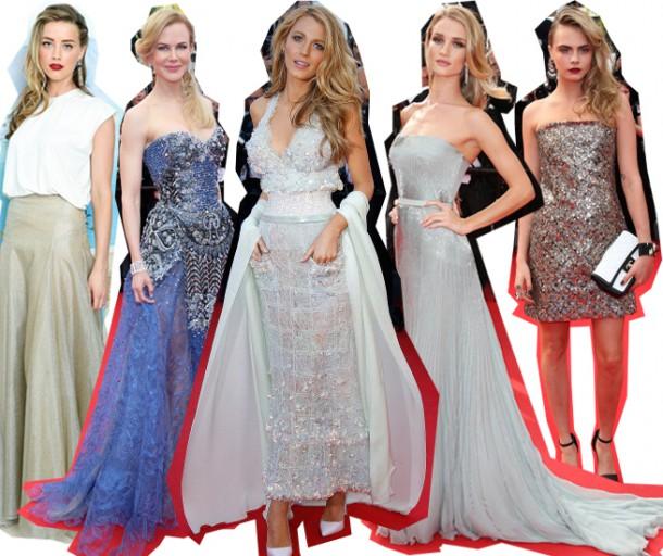 cannes shimmer and shine 610x512 Desať trendov na festivale v Cannes