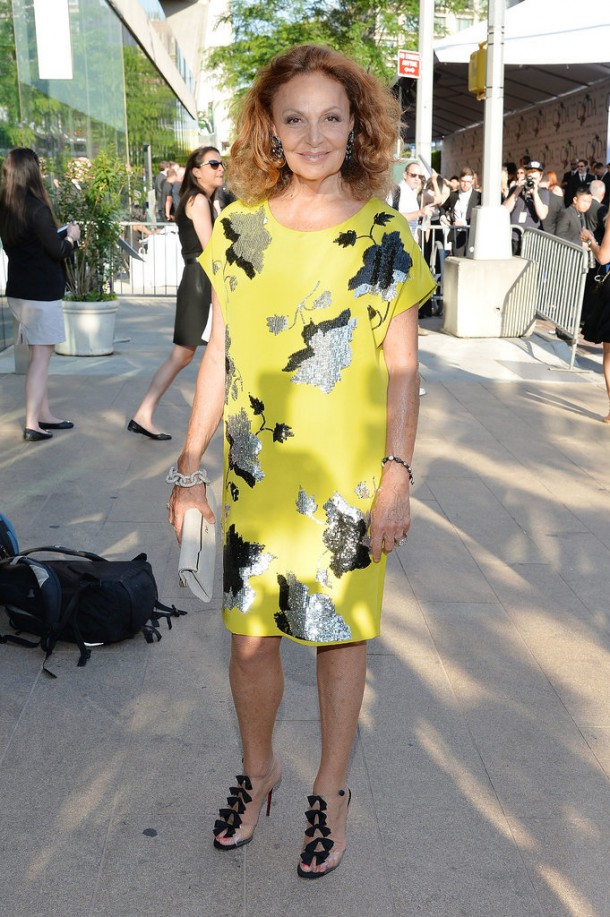 Diane von Furstenberg 2014 CFDA Awards 610x917 CFDA Fashion Awards 2014