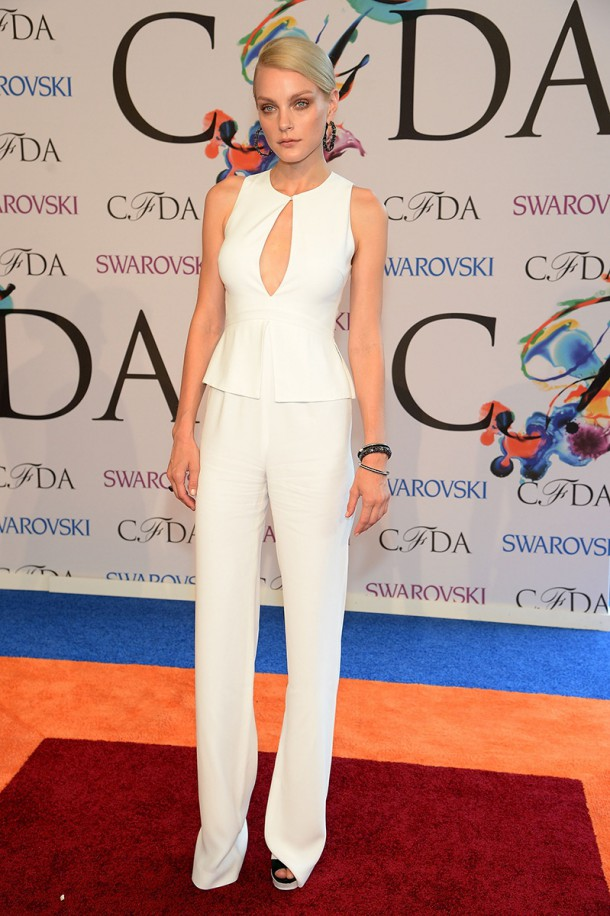 jessica stam 201357614399.jpg gallery max 610x916 CFDA Fashion Awards 2014