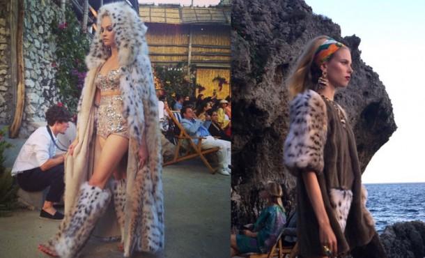 Dolce Fur 610x370 Dolce & Gabbana: Haute Couture na slnečnom ostrove Capri