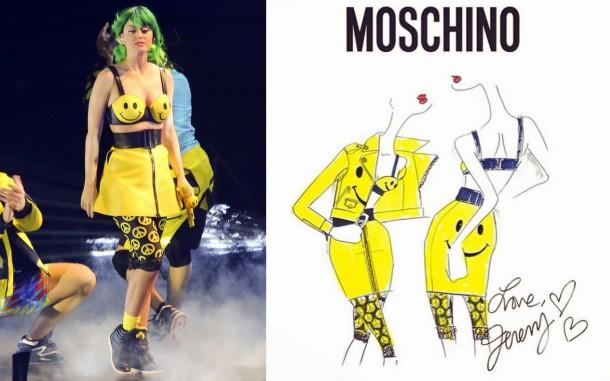 Katy Perry Moschino Prismatic World Tour Costume e1399557535379 610x381 Turné Katy Perry je prezentáciou dizajnérskych kostýmov