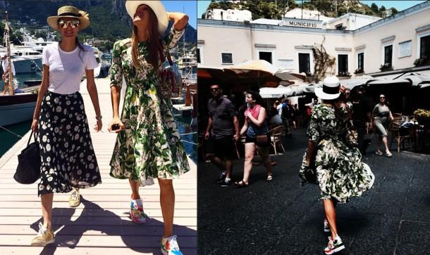 annadellorusso2 610x363 Dolce & Gabbana: Haute Couture na slnečnom ostrove Capri