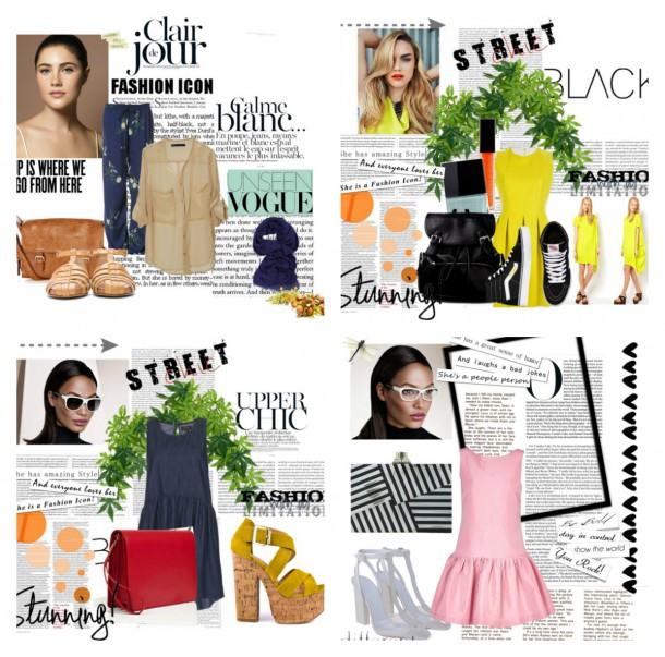 collage22 610x603 Polyvore: Svet módy ako na dlani