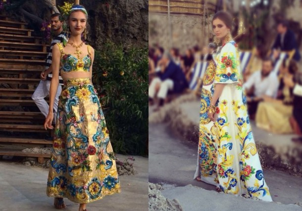 dolce 1 610x428 Dolce & Gabbana: Haute Couture na slnečnom ostrove Capri