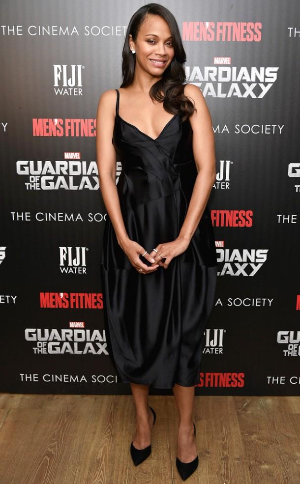 rs 634x1024 140729183815 634.Zoe Saldana Screening Pregnant NYC.ms .072914 610x985 Zoe Saldana a jej sexy tehotenský šatník