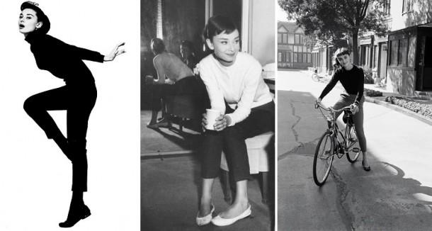 Audrey Capri 610x326 Päť klasických Audrey Hepburn kúskov, ktoré váš šatník potrebuje