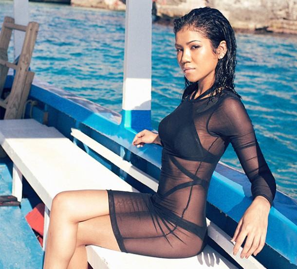 Jhene Aiko Complex 2014 7 610x553 Zoznam najsexi celebrít podľa Victorias Secret