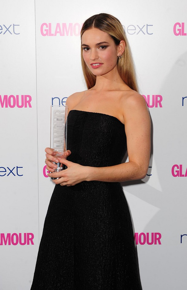 lily james at glamour women of the year awards in london 1 610x943 Zoznam najsexi celebrít podľa Victorias Secret