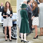 Kate Middleton Wears Monochrome Polka Dot Dress To Inauguration Of Warner Bros. Studios 150x150 Michelle Obama vs. Vojvodkyňa z Cambridge