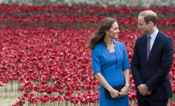 ad 142345563 610x370 Tehotenský šatník Kate Middleton