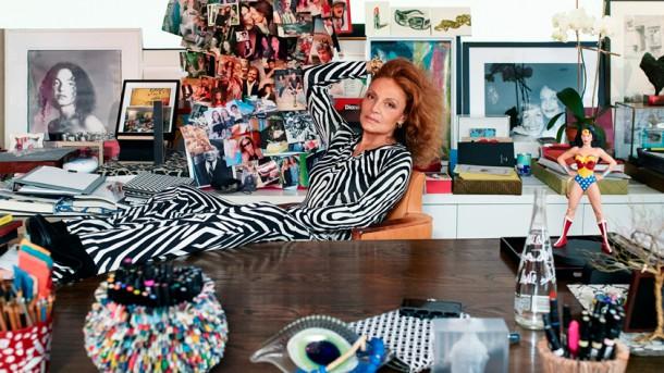e and diane von furstenberg 610x343 Reality show s Diane Von Furstenberg