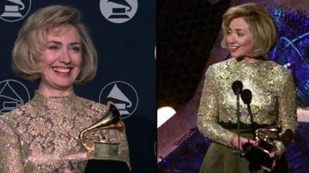 hillary clinton 610x342 Najmagickejšie momenty Oscara de la Rentu