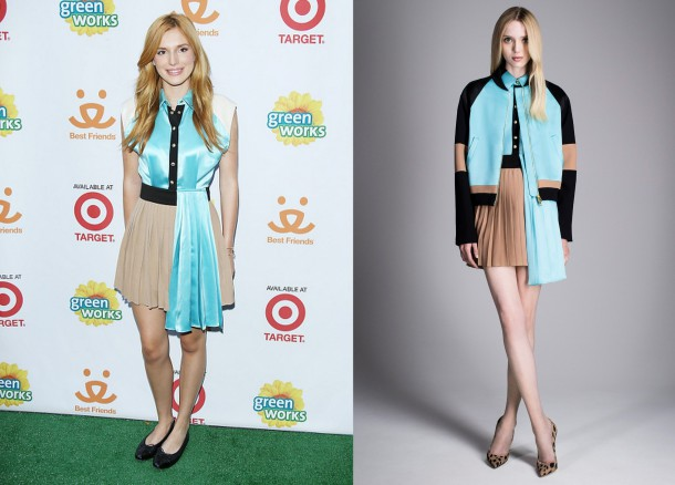 Bella Thorne InFausto Puglisi Best Friends Animal Society Video Premiere Party 610x438 Najhoršie outfity v októbri